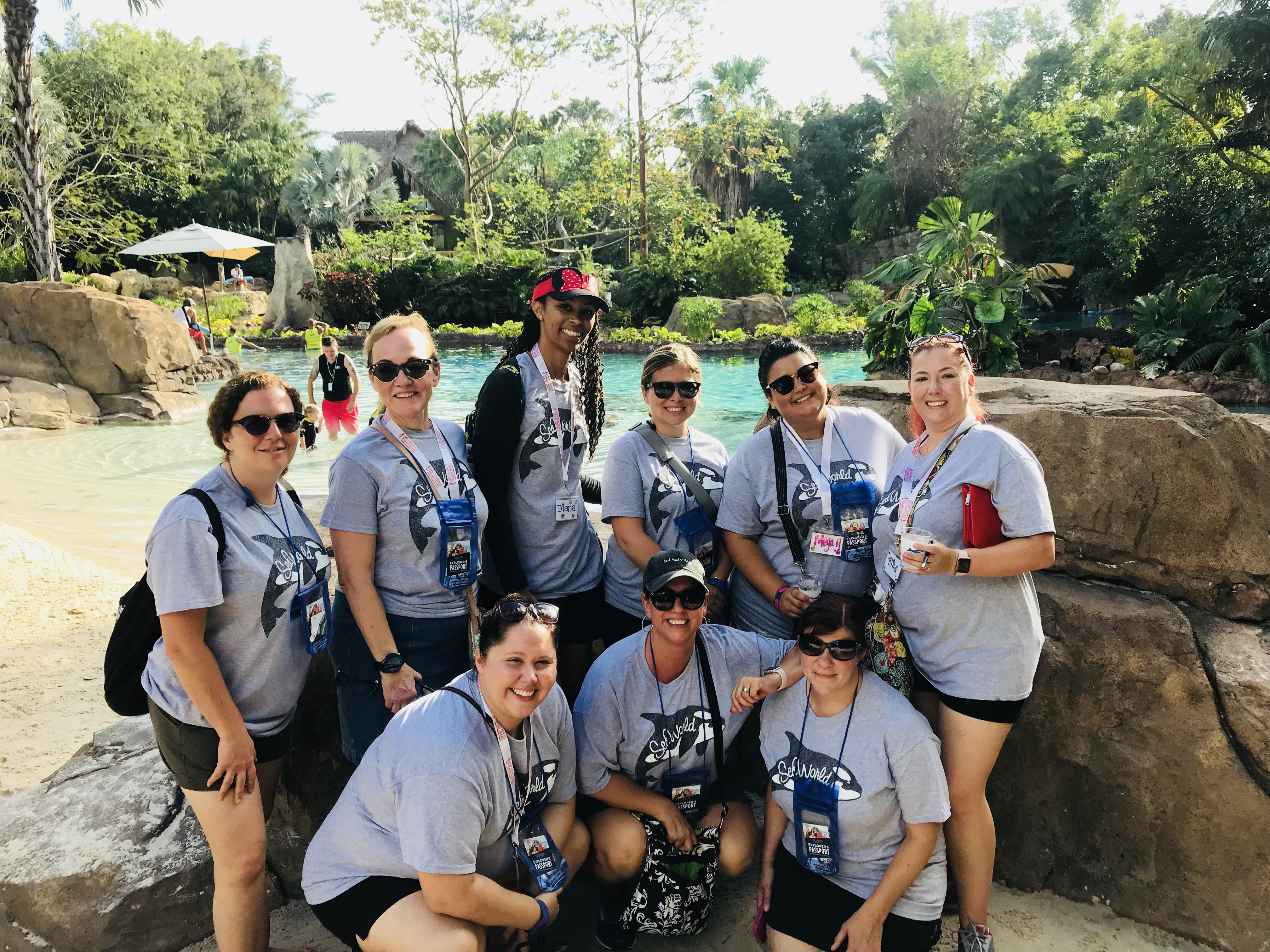 Agency Meeting 2017 - SeaWorld & Discovery Cove Tour