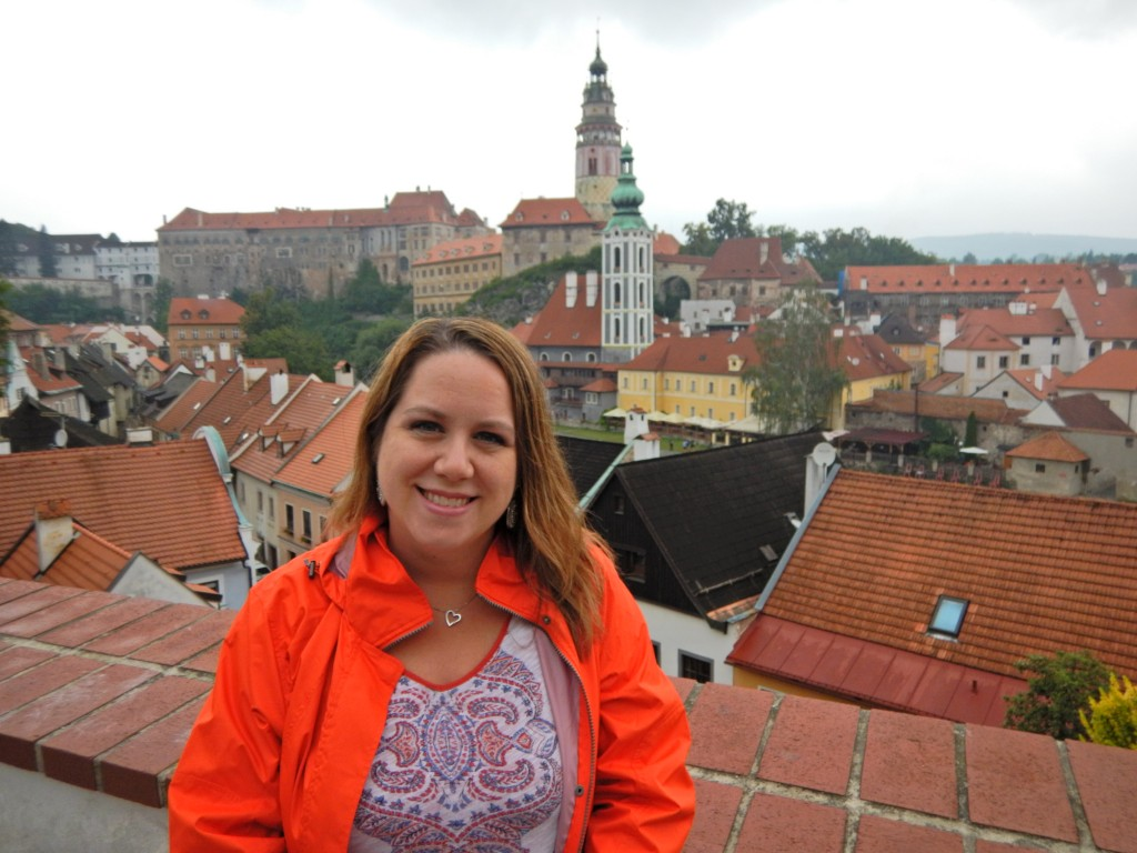 """Rebecca Jones visited the village of Cesky Krumlov, Czech Republic, on her recent Adventures by Disney vacation."""