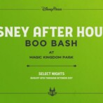 Breaking News: New Halloween-Themed 'Disney After Hours BOO BASH' Coming to Magic Kingdom Park this Fall!