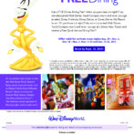 Free Dining Offered for Walt Disney World