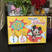 Counting Down the Days… (How to make a COuntdown Calendar)