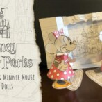 Disney Parks Blog Presents Disney Paper Parks featuring Paper Dolls of Mickey Mouse and Minnie Mouse, Designed by Walt Disney Imagineering